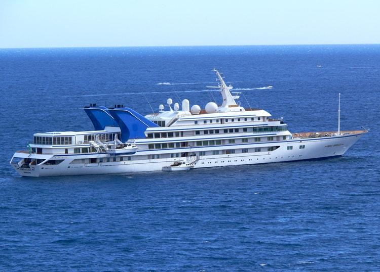 Superyacht Prince Abdulaziz -Photo by Capt. Lawrence Dalli, Malta Ship Photos, 2011