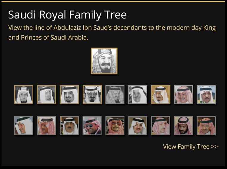 saudi royal family tree