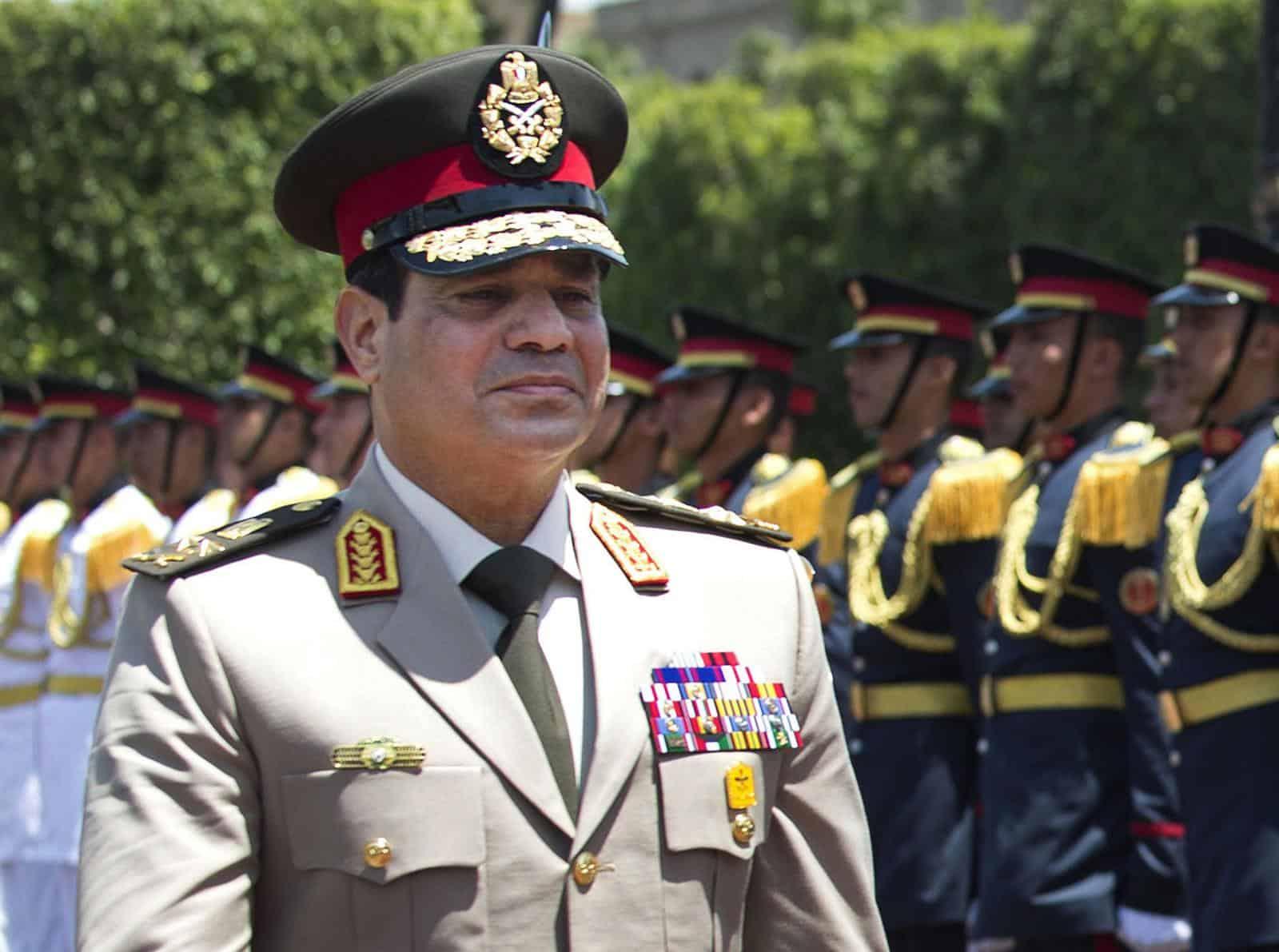 President of Egypt Abdel Fattah el-Sisi