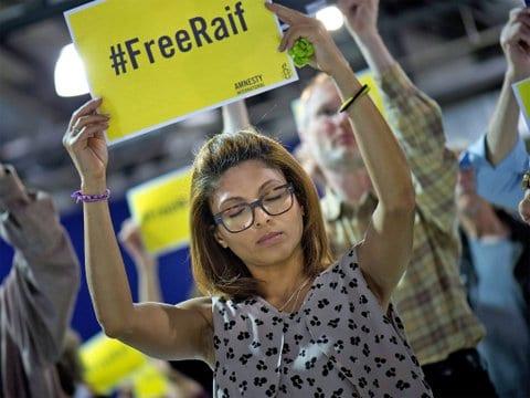 Wife of Raif Badawi