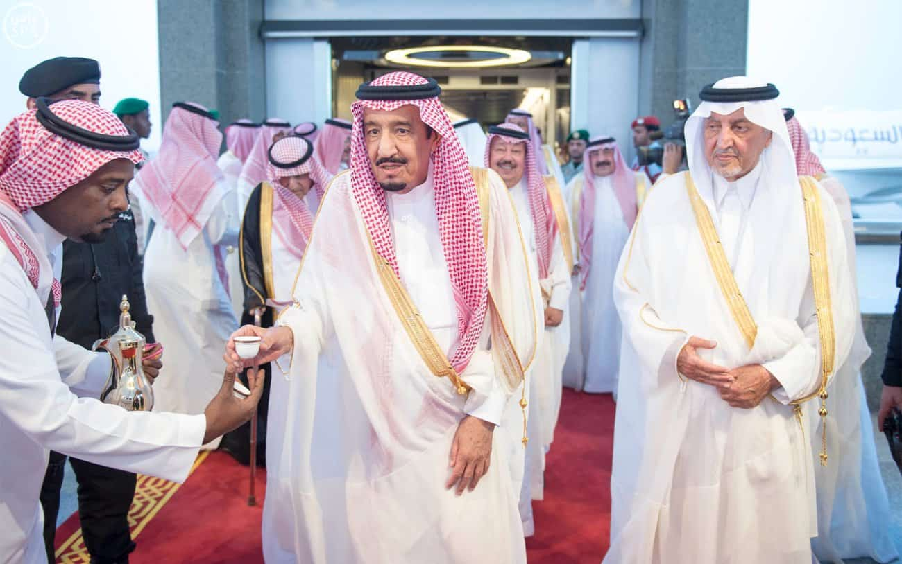 King Salman returns from Jeddah