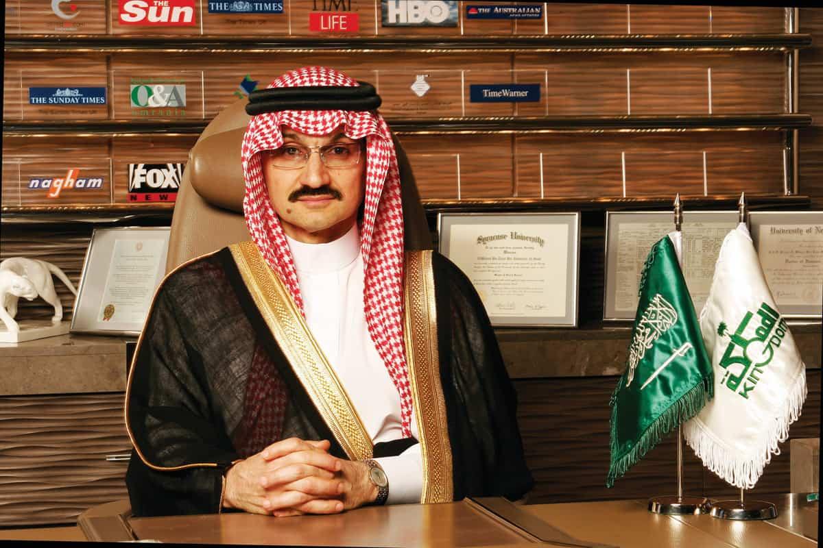 Saudi Prince Alwaleed bin Talal Al Saud
