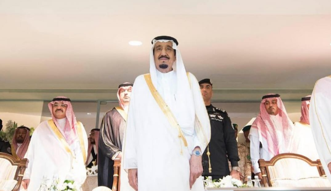 King Salman on Friday in Riyadh (Photo SPA)