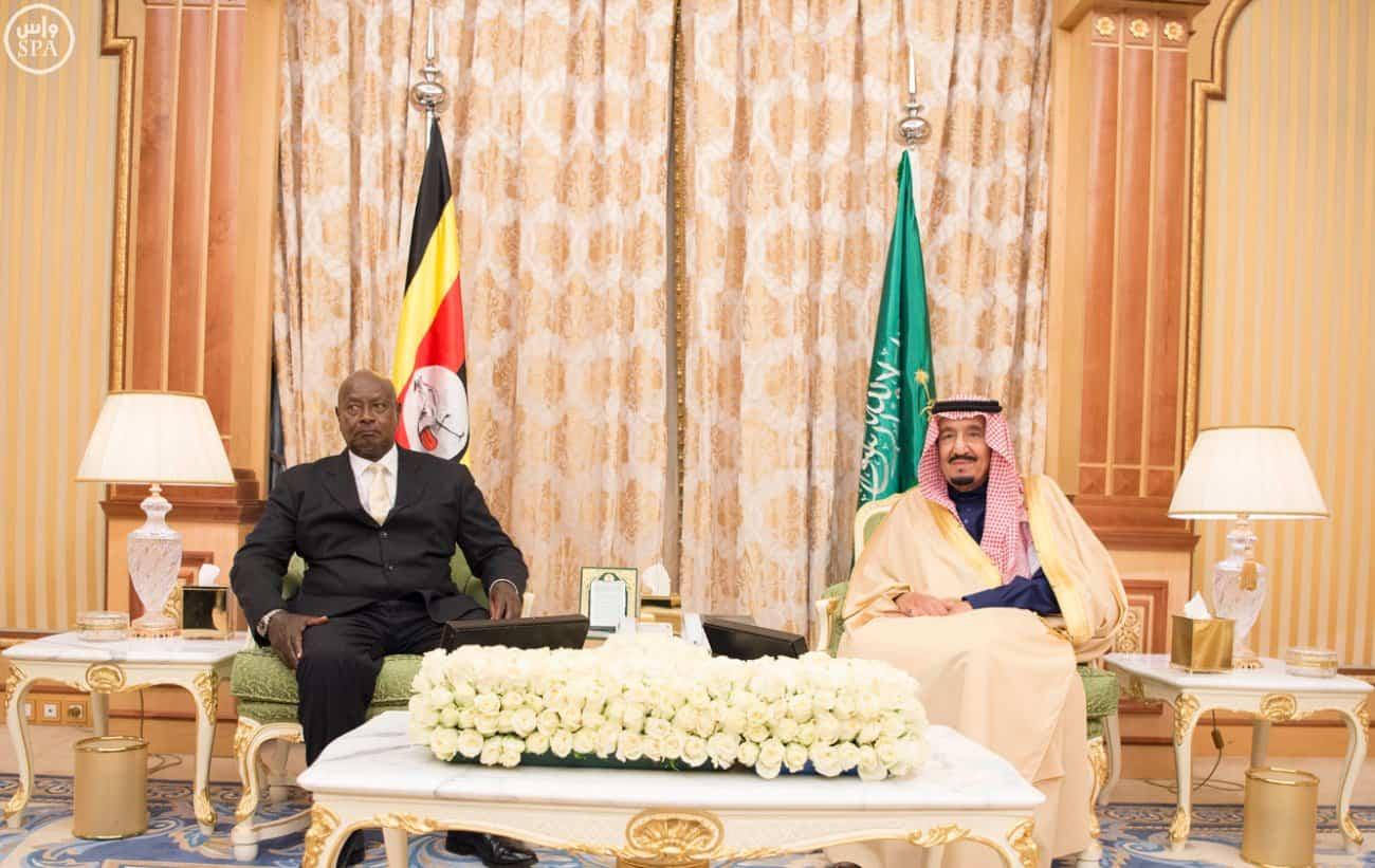 uganda president in saudi arabia