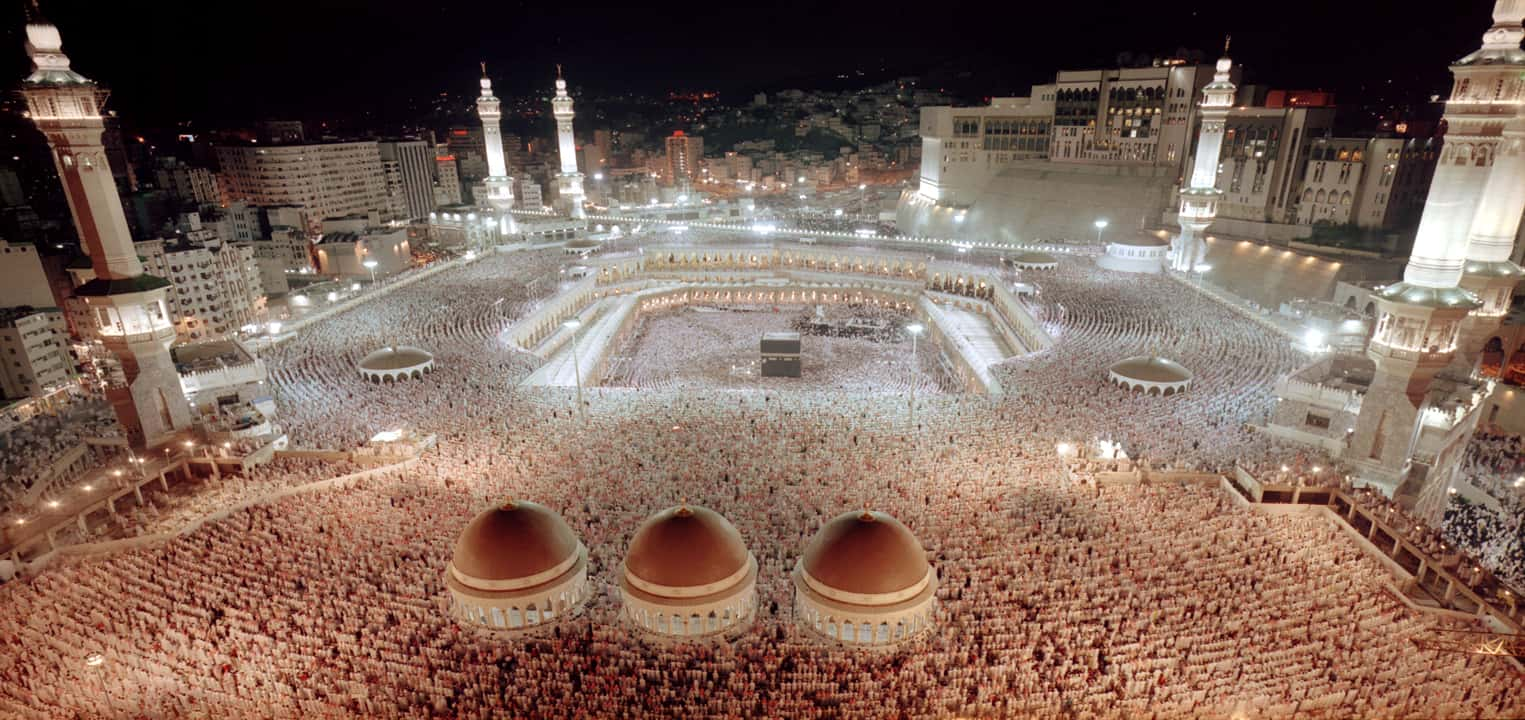 Mecca at peak times