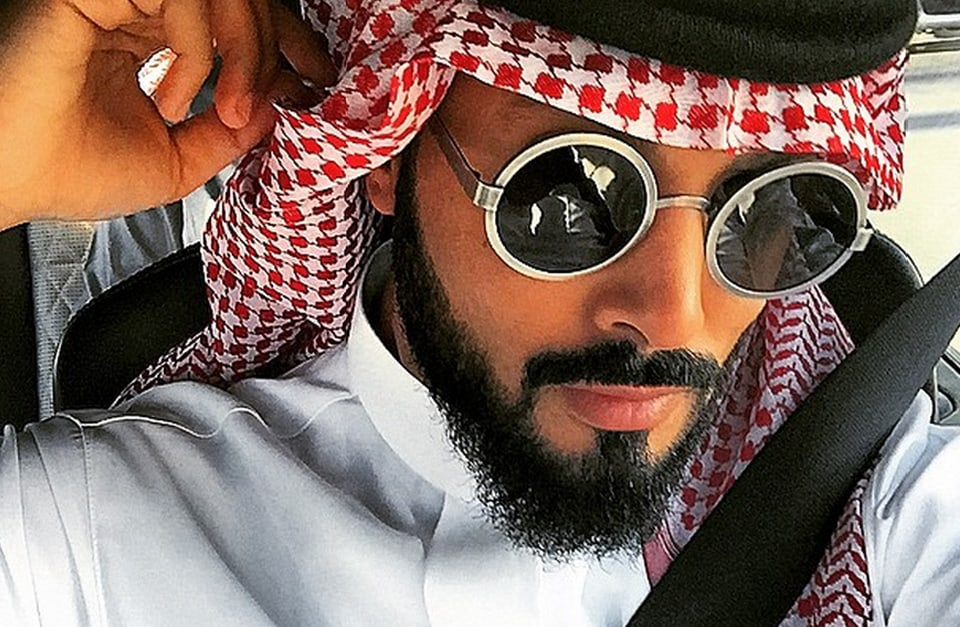 Prince Fahad from his instagram account Yolofahad