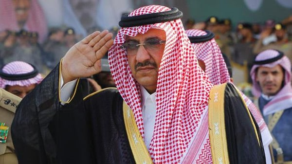 Saudi Crown Prince Mohammed bin Nayef (Photo SPA)