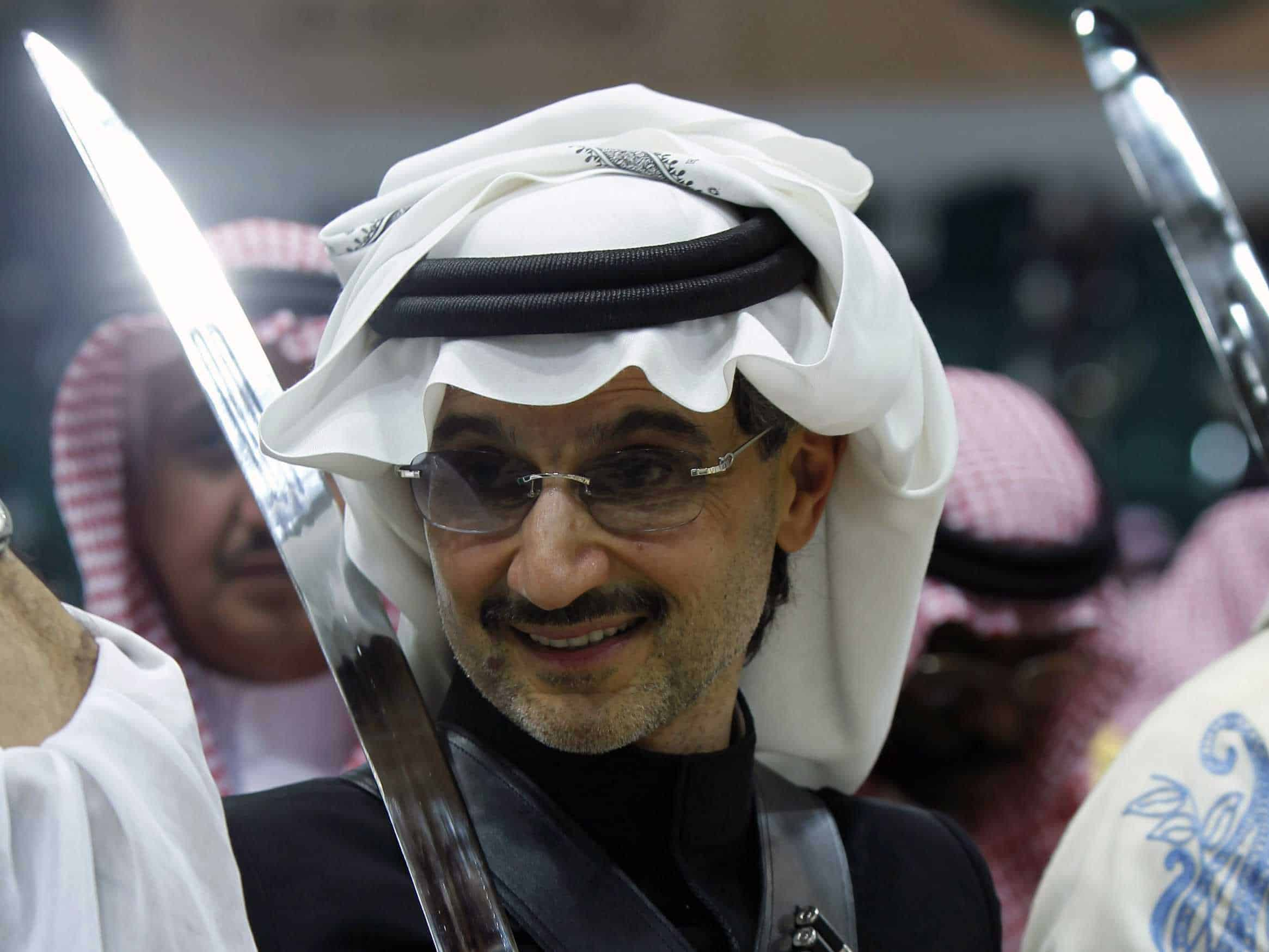 Prince Alwaleed rumoured visit to Israel (SPA)