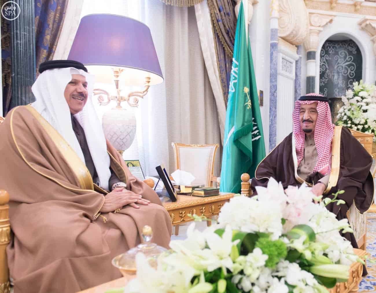 GCC Secretary and King Salman