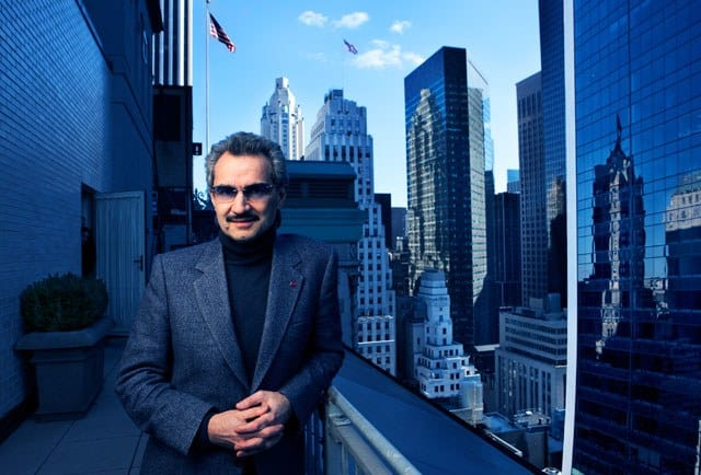 Prince Alwaleed's Net worth is currently reported by Forbes at 17.7 Billion