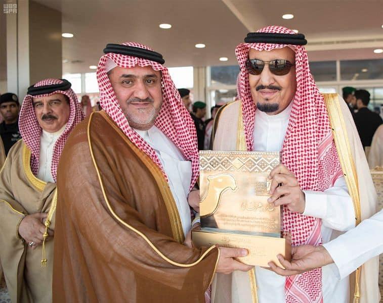 King Salman at the King Abdulaziz Festival