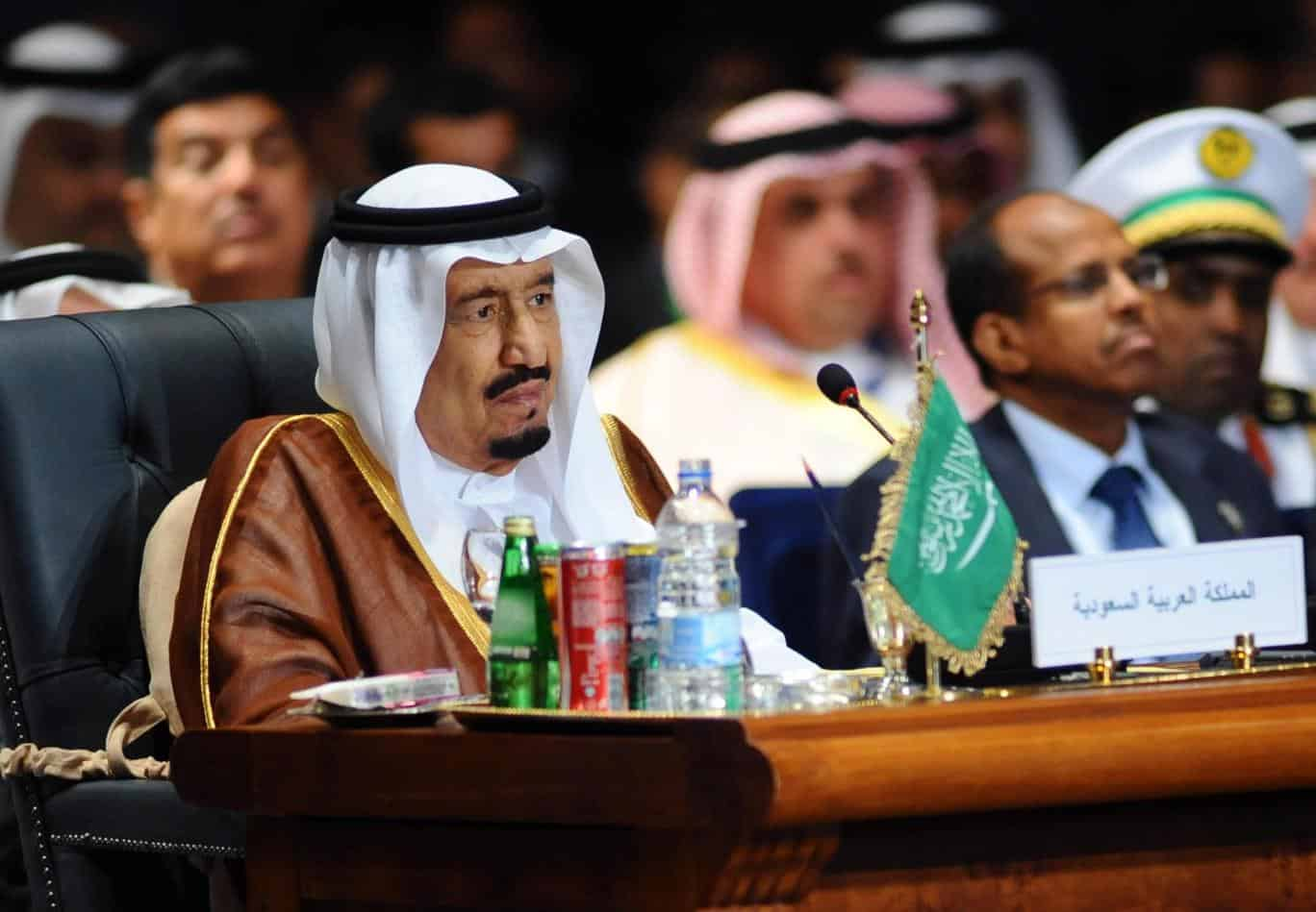 King Salman sends message of support to President Trump