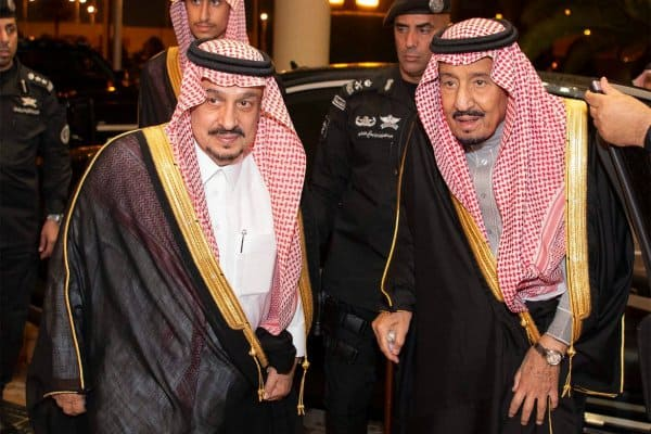 King Salman in Qassim