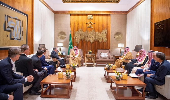 Christian Group meetings with MBS in Riyadh